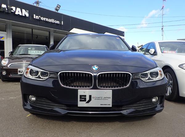BMW320dと横幅1800