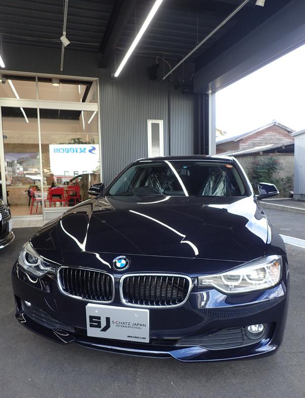 BMWのGZOXボディガラスコーティング
