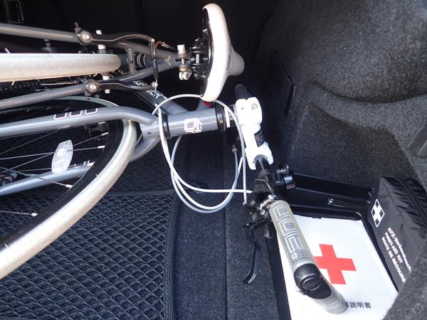BMW3シリーズに積める自転車