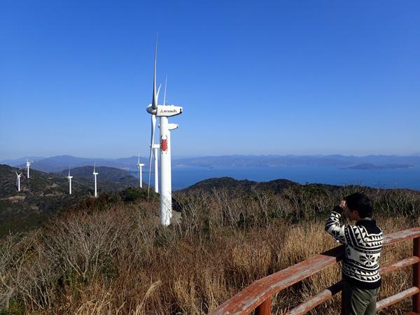 佐田岬せと風の丘パークからの眺め