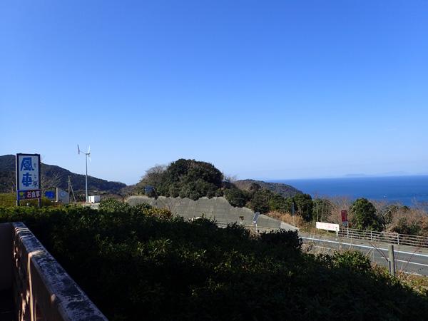 佐田岬の中間地点にある道の駅