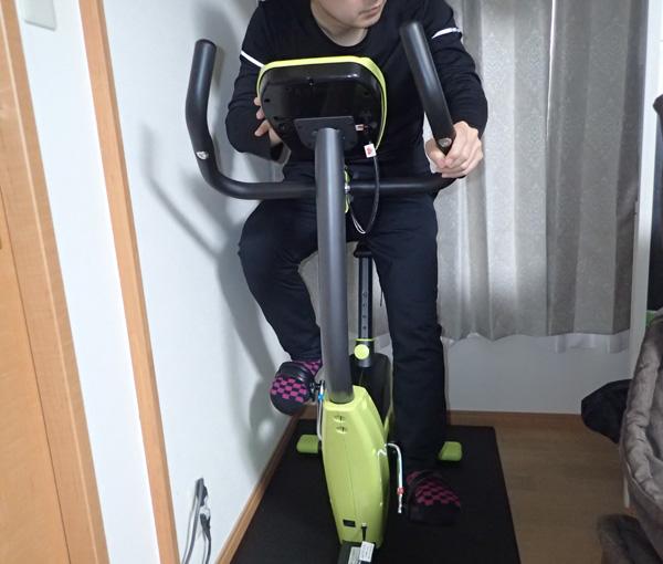 ブログ管理人のダイエット自転車