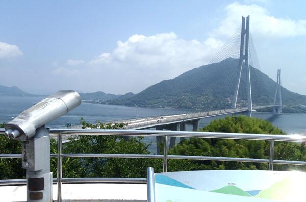 多々羅大橋の眺め