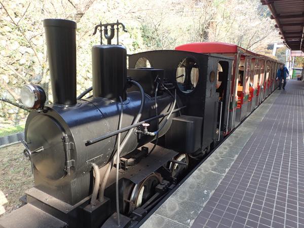 マイントピア別子の鉱山鉄道