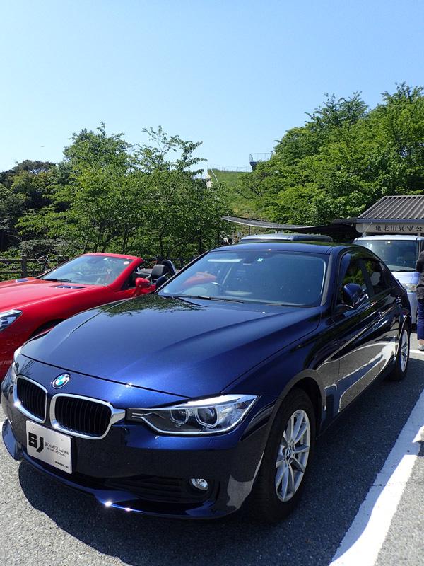 BMW320dと亀老山