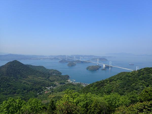 来島海峡大橋きろうさん展望台