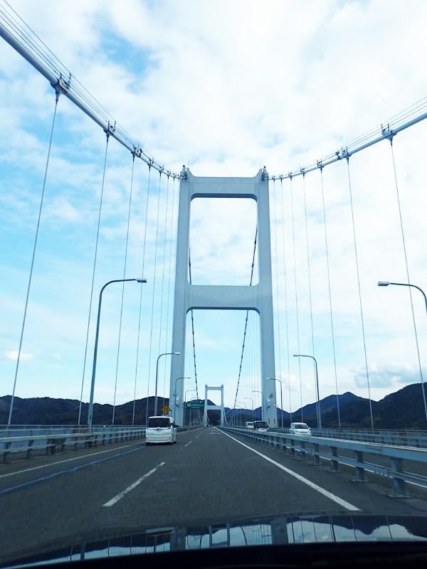 来島海峡大橋ドライブ