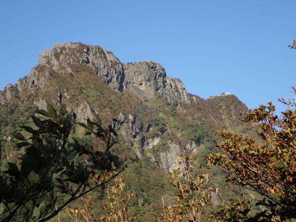 石鎚スカイライン経由で石鎚山登山