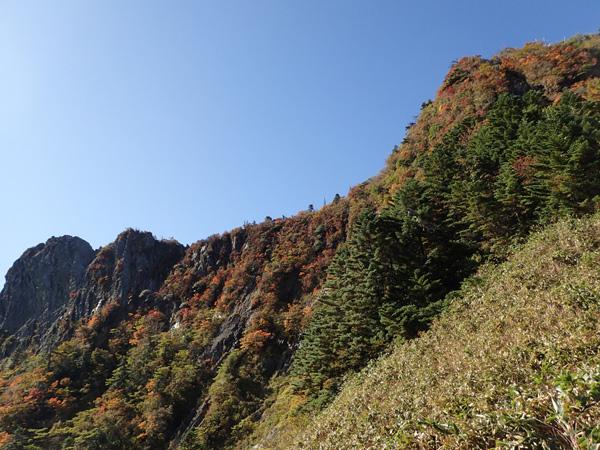 石鎚山登山後半