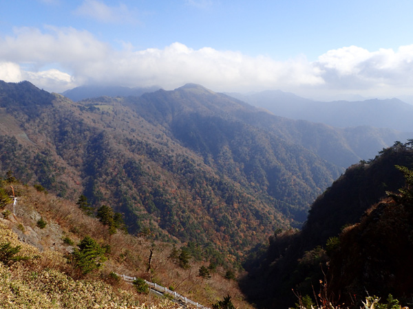 瓶ケ森男山からの眺望
