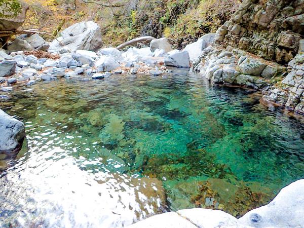 石鎚山系の水