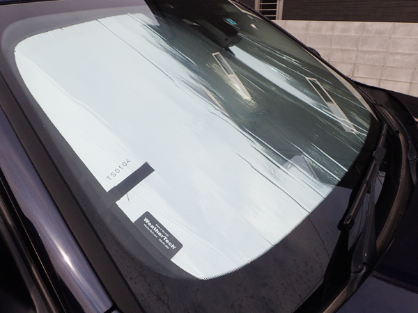 BMW3シリーズのサンシェード