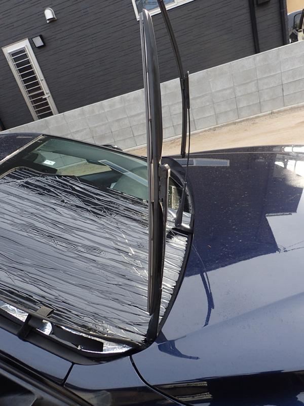 BMW3シリーズのワイパーゴム交換