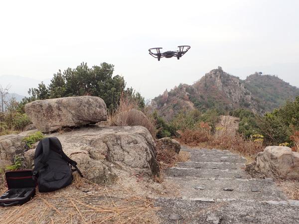 安神山、鷲ヶ頭山にてドローン撮影