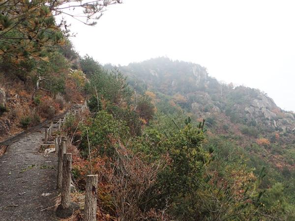 安神山の登山ルート