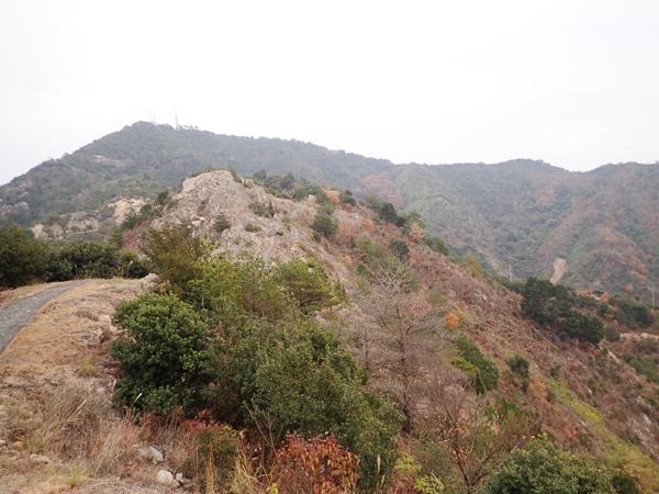 安神山鷲ヶ頭山登頂ルート