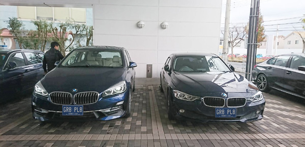 BMW218dアクティブツアラーラグジュアリー