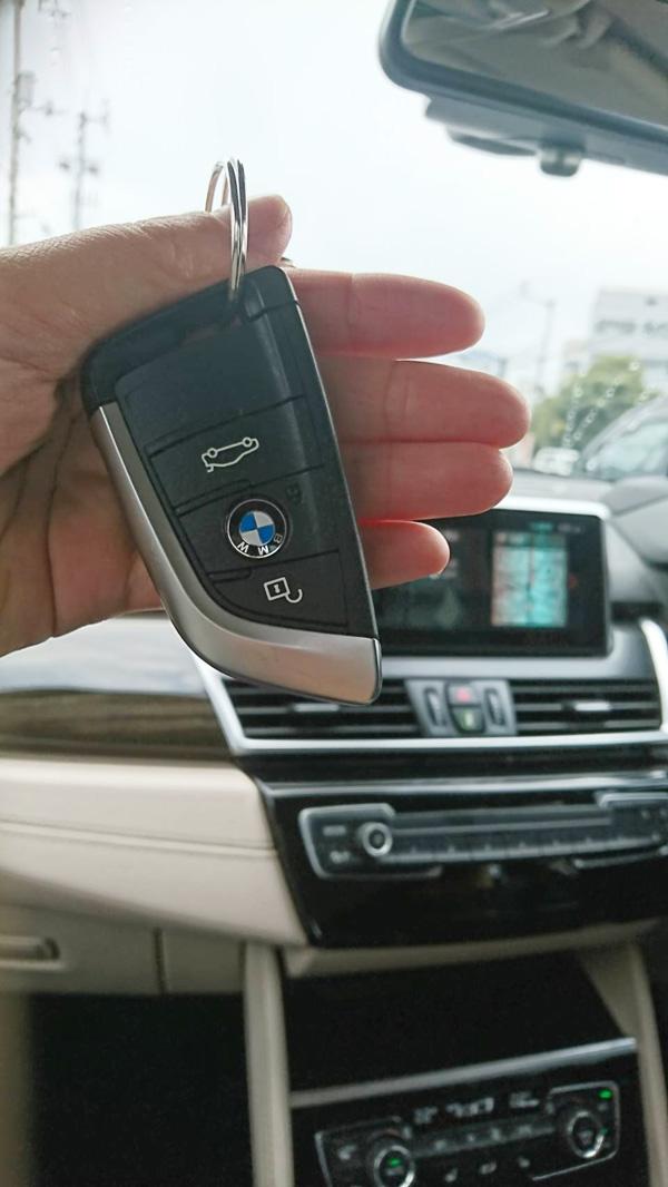 BMW218dグランツアラーラグジュアリーのキー