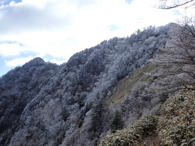 伊予富士の積雪