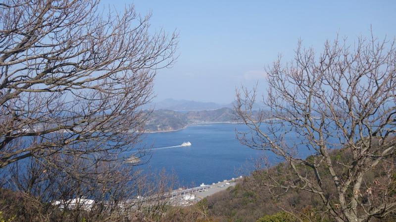 太山寺・瀧雲山(経が森)山頂からの眺め