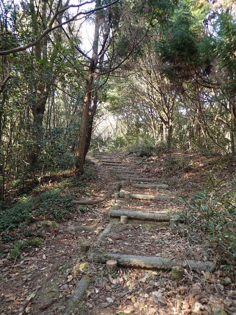 太山寺・瀧雲山登山道