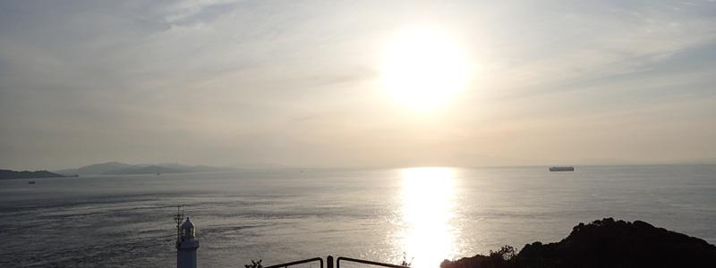 四国最西端!佐田岬の夕日と釣り