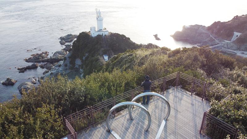 椿山展望台からの眺め