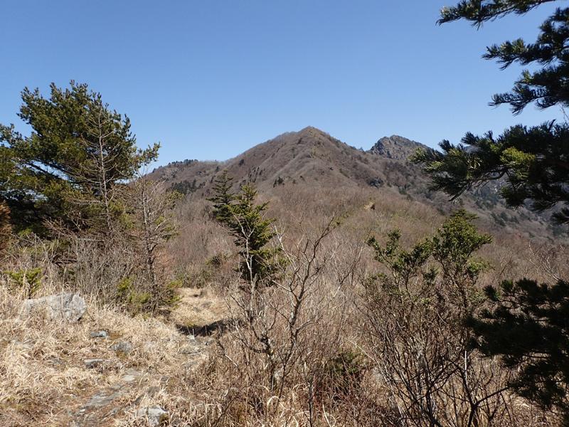 西赤石山から東赤石山へ