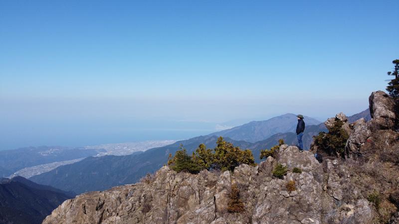 前赤石山の登山ルート