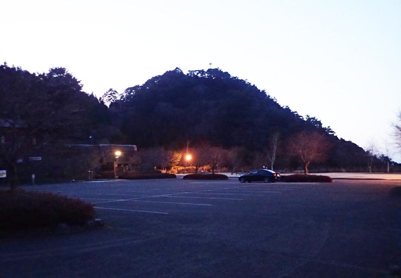 マイントピア別子の東平駐車場