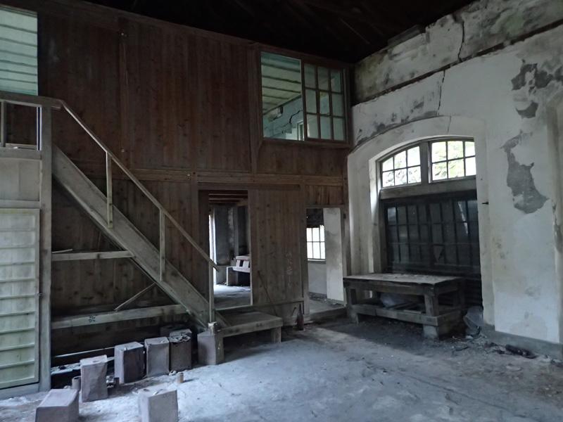 別子銅山の第三変電所
